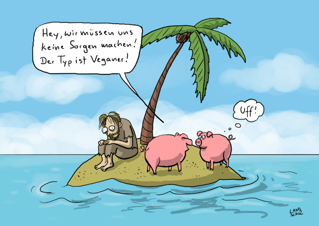 Dorthe Landschulz - Veganerinsel