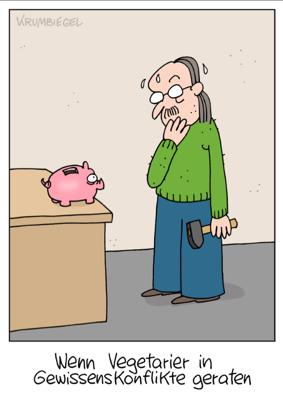 Uwe Krumbiegel - Vegetariersparschwein